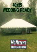 Rental store for TENT 40X15 MIDDLE SECTION in Sapphire NC