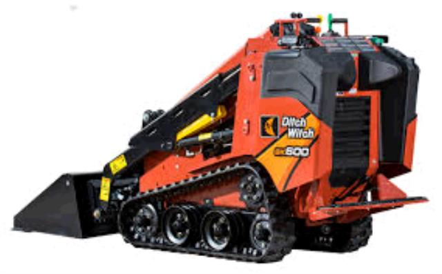 Where to find DITCH WITCH MINI TRACK LOADER - SK600 in Sapphire
