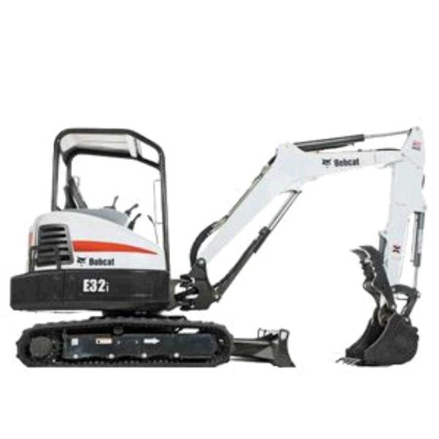 Where to find TRACKHOE, BOBCAT E32i, 8000  TRACKHOE in Sapphire