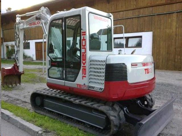 Where to find TRACKHOE, TAKEUCHI TB175 in Sapphire