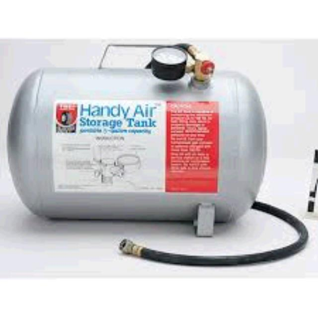 Where to find HANDY AIR TANK 5 GALLON in Sapphire