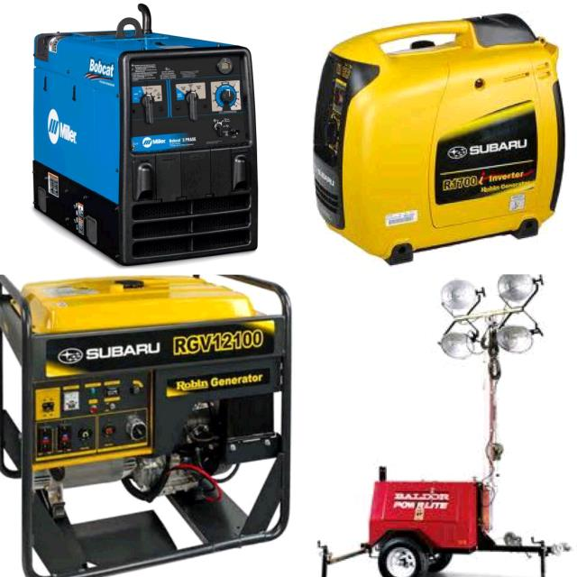 Rent Generators/welders